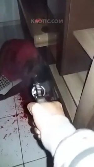 Point blank execution in Brazil