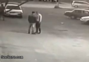 Sucker punch and several stomps leaves a man dead