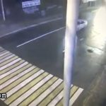 Woman on crosswalk wiped out by a speeding car 2