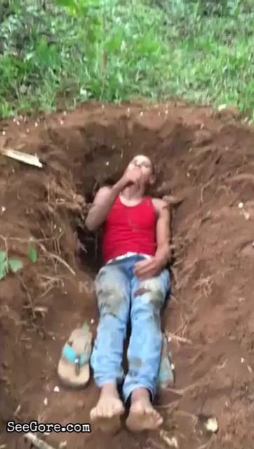 Man brutally decapitated after was forced to dig his own grave 11