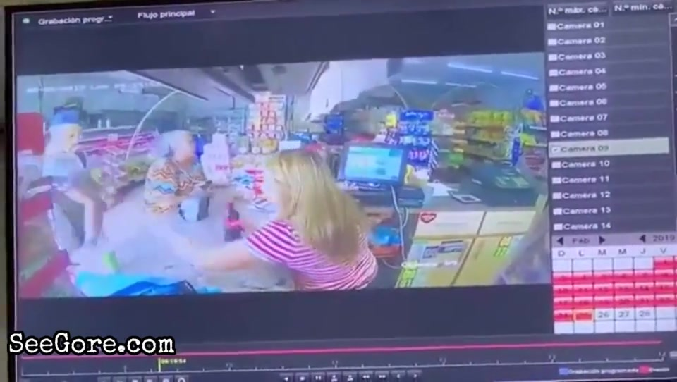 Female cashier is shot point blank 8