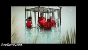 ISIS drown 5 men