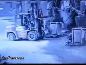 Man trying to save his friend ended up killing him in a forklift accident