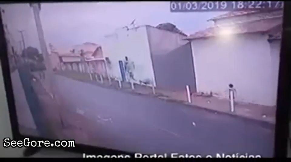 Toddler crushed against wall by an out of control car