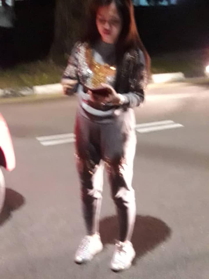[Aftermath] Girl crushes man's leg 1