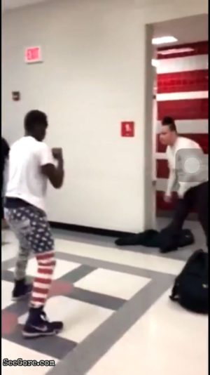Fight that happened on January 27, 2017 at High School in USA