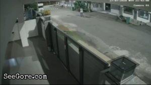 Unconfined dog attacks a female pedestrian