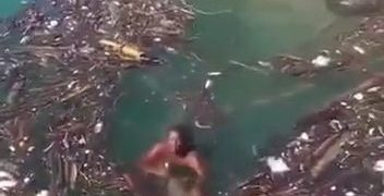 Man drowned while trying to save a drowning man 30