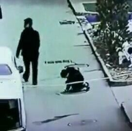 Boy launched into the air after dropping live firecracker into manhole 8