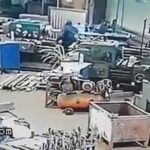 Factory worker pulled into a machine 3