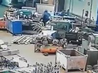 Factory worker pulled into a machine 10