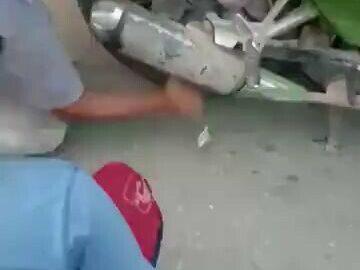 Baby stuck in a wheel of a bike 6