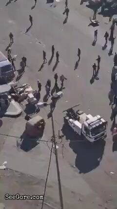 Bomb explodes in crowd 13