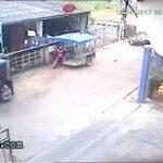 Speeding bike rams into a little girl 2