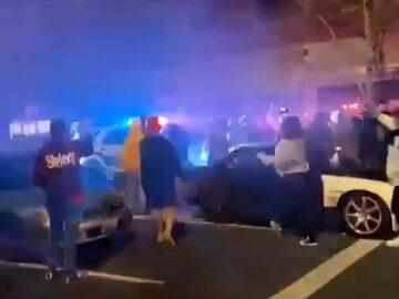 Tacoma police SUV plows through crowd 8