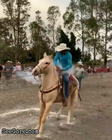 Cowboy loses his pinky 7