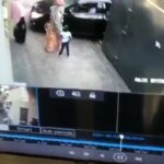 Gate crushes mom and her daughter 3