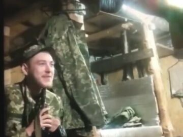 A Ukrainian soldier was drove to suicide 6