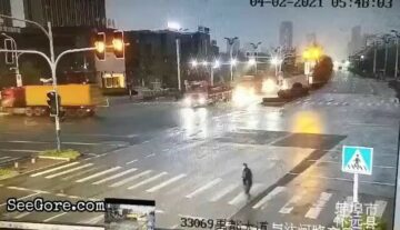 Bad timing to cross the road 3
