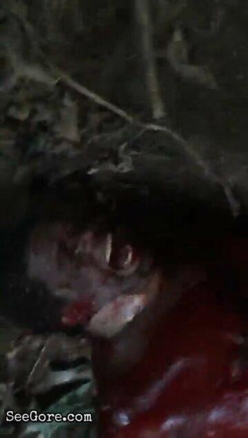Black dude butchered alive 7