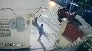 Small truck driver reverses into colleague 2