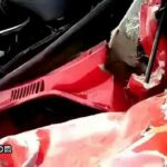 Super-close car crash aftermath 2
