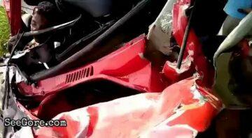 Super-close car crash aftermath 4