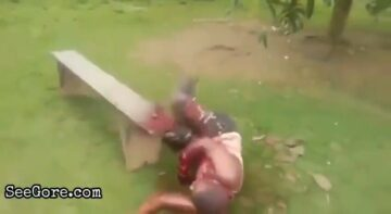 Hand chopping 5