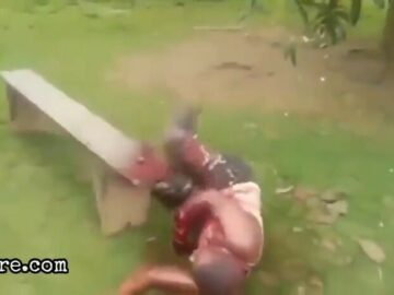 Hand chopping 6
