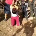 Woman slowly being dismembered by cartel 2