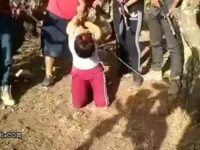 Woman slowly being dismembered by cartel 4
