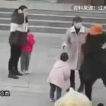 Asian moms kicking each other's daughter 3